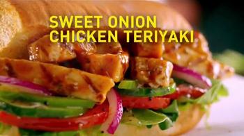 Subway Sweet Onion Chicken Teriyaki TV Spot, 'Menos calorías' [Spanish] - Thumbnail 2