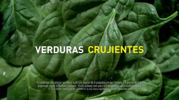 Subway Sweet Onion Chicken Teriyaki TV Spot, 'Menos calorías' [Spanish] - Thumbnail 5