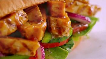 Subway Sweet Onion Chicken Teriyaki TV Spot, 'Menos calorías' [Spanish] - Thumbnail 8