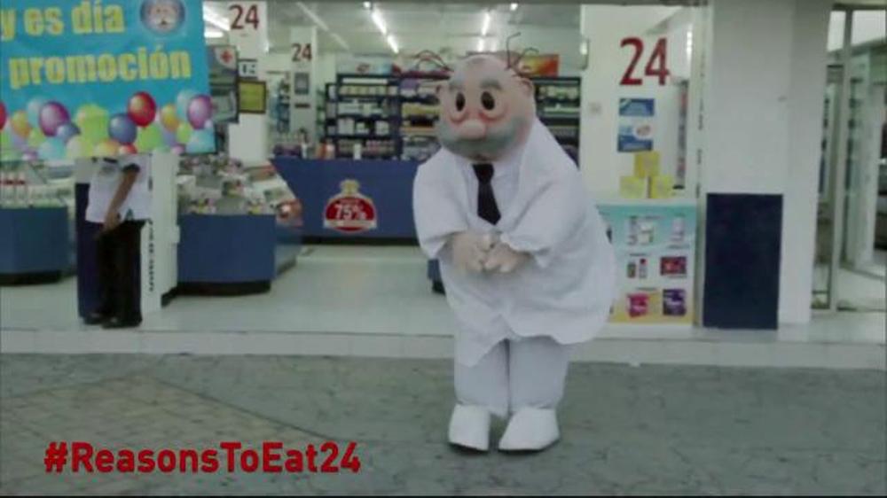 EAT24 TV Commercial, 'Dancing Man'