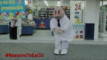 EAT24 TV Spot, 'Dancing Man'