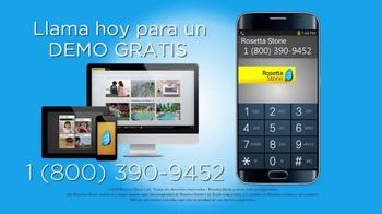 Rosetta Stone TV Spot, 'Razones por las cuales hablar inglés' [Spanish] - Thumbnail 4