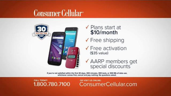Consumer Cellular TV Spot, 'No. One Fan: Plans $10+ a Month' - Thumbnail 8