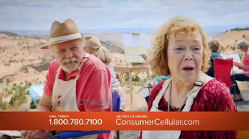 Consumer Cellular TV Spot, 'No. One Fan: Plans $10+ a Month' - 4281 commercial airings