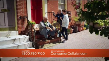 Consumer Cellular TV Spot, 'No. One Fan: Plans $10+ a Month' - Thumbnail 3