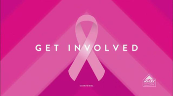Ashley Furniture Homestore TV Spot, 'Breast Cancer' - 13 commercial airings