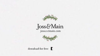 Joss and Main TV Spot, 'Picture Perfect Holiday' - Thumbnail 9
