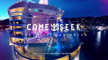 Royal Caribbean Cruise Lines TV Spot, 'This Is Not a Cruise: Come Seek' - Thumbnail 8