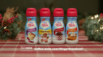 Coffee-Mate TV Spot, 'Gingerbread Joel Falls Hard for A Holiday Flavor' - Thumbnail 6