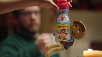 Coffee-Mate TV Spot, 'Gingerbread Joel Falls Hard for A Holiday Flavor' - Thumbnail 4