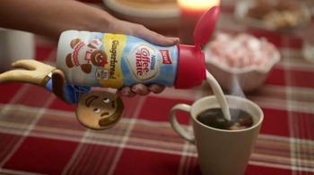 Coffee-Mate TV Spot, 'Gingerbread Joel Falls Hard for A Holiday Flavor'