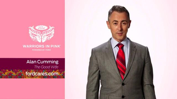 Ford Warriors in Pink TV Spot, 'Tie This On' Featuring Alan Cumming - 1 commercial airings