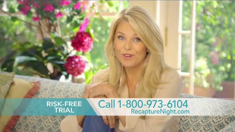 Christie Brinkley Commercial >> Christie Brinkley Authentic Skincare Recapture 360 Tv Commercial