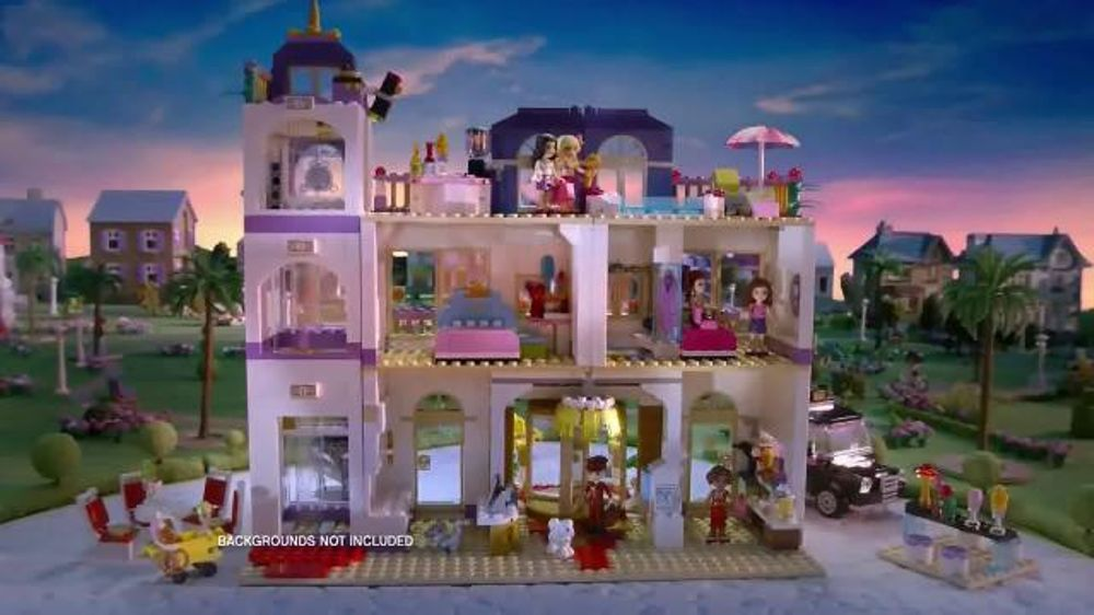Lego Friends Tv Commercial Grand Hotel Ispot Tv