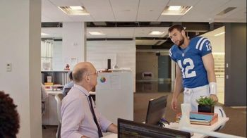 TD Ameritrade TV Spot, 'Andrew Luck Tries to Help With Your Portfolio'