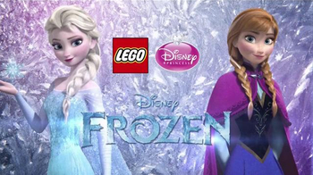 LEGO Disney Princess TV Spot, 'Do You Wanna Build a Snowman?' - Thumbnail 1