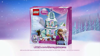 LEGO Disney Princess TV Spot, 'Do You Wanna Build a Snowman?' - Thumbnail 7