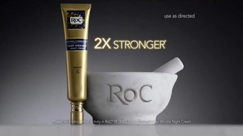 RoC Retinol Correxion Deep Wrinkle Night Cream TV Spot, 'Turn Heads' - Thumbnail 3
