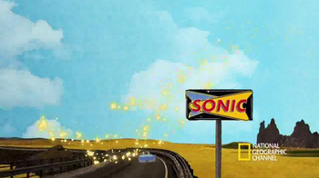 Sonic Drive-In TV Spot, 'National Geographic Channel: History of Evolution' - Thumbnail 6