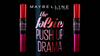 Maybelline New York The Falsies Push Up Drama TV Spot, 'Volumen' [Spanish] - Thumbnail 3