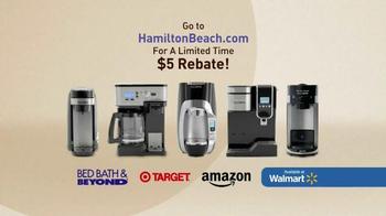 Hamilton Beach FlexBrew TV Spot, 'Brew and Enjoy' - Thumbnail 8