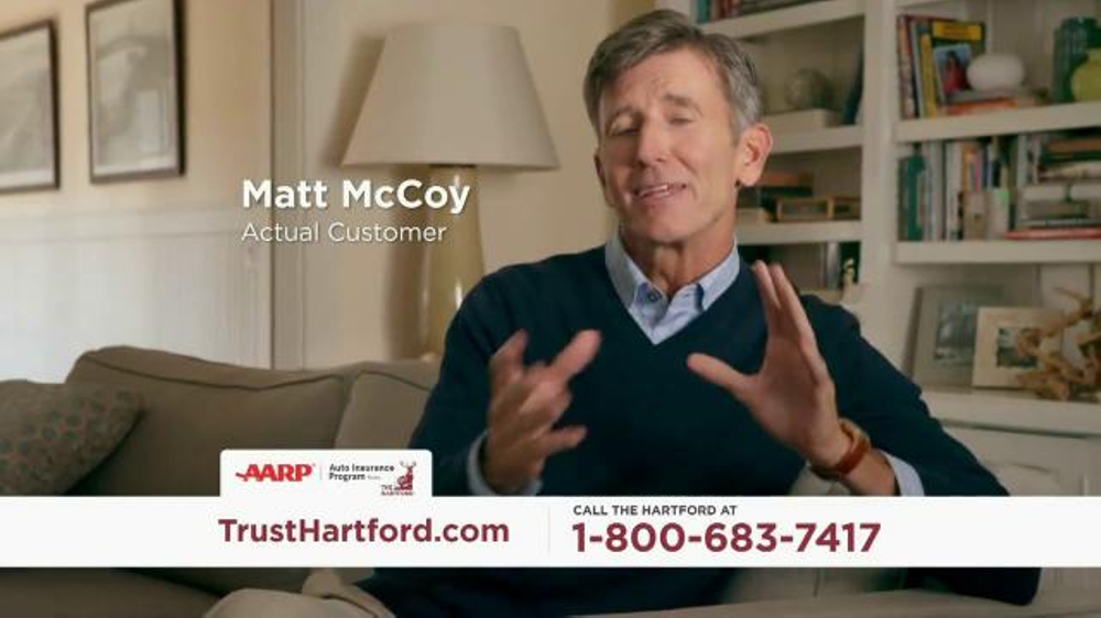 The Hartford AARP Auto Insurance Program TV Commercial ...