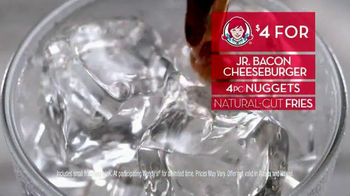 Wendy's 4 for $4 Meal TV Spot, 'Deal Feels Like a Meal' - Thumbnail 3