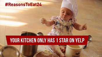Eat24 TV Spot, 'Baby Chef' - Thumbnail 5