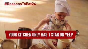 Eat24 TV Spot, 'Baby Chef' - Thumbnail 6