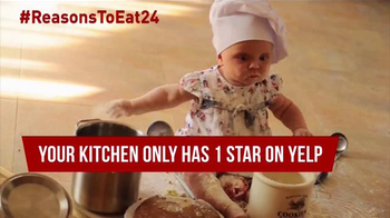 Eat24 TV Spot, 'Baby Chef' - Thumbnail 7