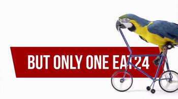 EAT24 TV Spot, 'Bicycling Parrot' - Thumbnail 4