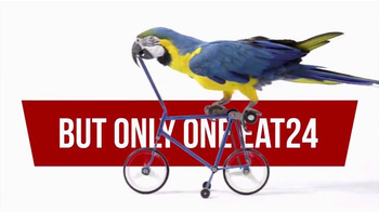 EAT24 TV Spot, 'Bicycling Parrot' - Thumbnail 5