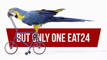EAT24 TV Spot, 'Bicycling Parrot' - Thumbnail 6