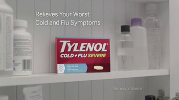 Tylenol Cold + Flu Severe TV Spot, 'Everything You've Got' - Thumbnail 5