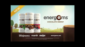 Energems TV Spot, 'Chocolate Energy' - Thumbnail 8