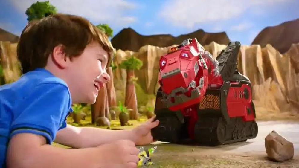 Dinotrux Mega Chompin' Ty Rux TV Commercial, 'Half Dinosaur, Half Truck'