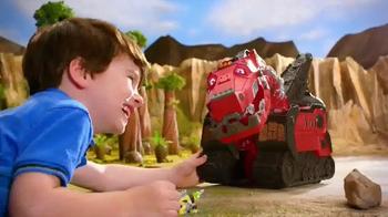 Dinotrux Mega Chompin' Ty Rux TV Spot, 'Half Dinosaur, Half Truck'
