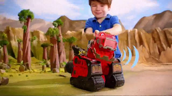 Dinotrux Mega Chompin' Ty Rux TV Spot, 'Half Dinosaur, Half Truck' - Thumbnail 3