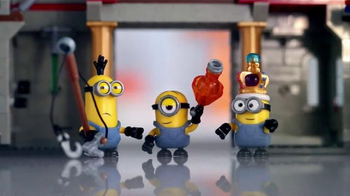 Mega Bloks Minions Supervillan Jet & Castle Adventure TV Spot, '