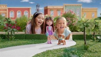 Dora & Friends Train & Play Dora and Perrito TV Spot, 'Bilingual Training' - 291 commercial airings