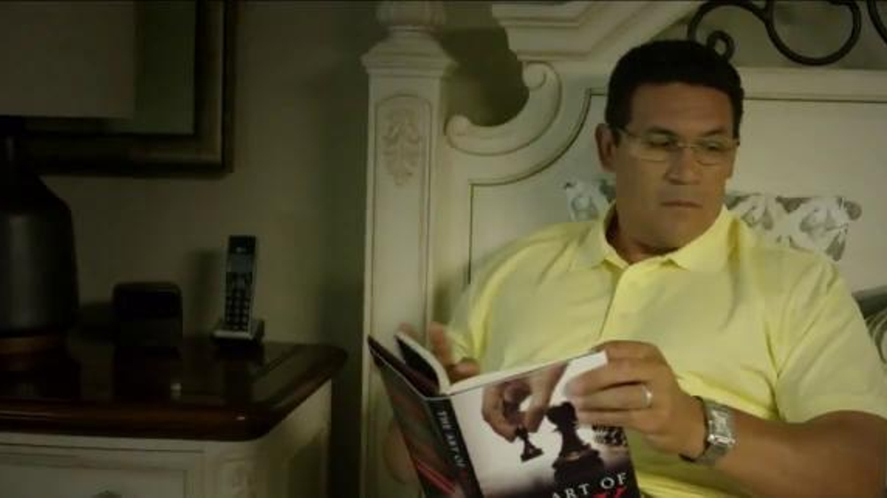 USAA TV Commercial, 'Coach Ron Rivera Takes Risks: Tagged'