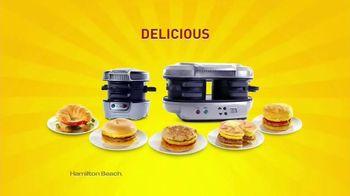 Hamilton Beach Breakfast Sandwich Maker TV Spot, 'How Do You Breakfast?' - 1790 commercial airings