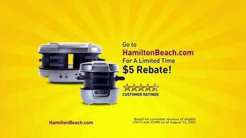 Hamilton Beach Breakfast Sandwich Maker TV Spot, 'How Do You Breakfast?' - Thumbnail 7