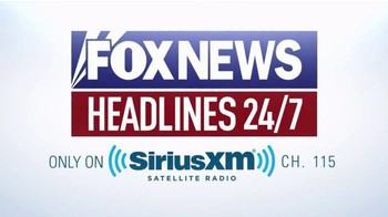 Sirius/XM Satellite Radio TV Spot, 'Fox News Headlines' - Thumbnail 7