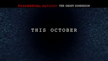 Paranormal Activity: The Ghost Dimension - Alternate Trailer 7