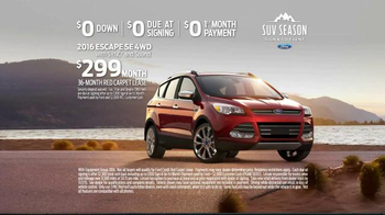 Ford SUV Season Sign & Go Event TV Spot, 'Through Many Landscapes' - Thumbnail 8