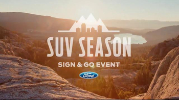 Ford SUV Season Sign & Go Event TV Spot, 'Through Many Landscapes' - Thumbnail 2