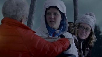 Columbia TurboDown Jacket TV Spot, 'Ski Rescue'