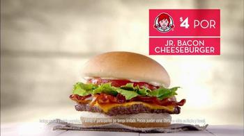 Wendy's 4 for $4 Meal TV Spot, 'Ofertas de sabor' - Thumbnail 5