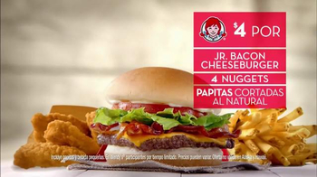 Wendy's 4 for $4 Meal TV Spot, 'Ofertas de sabor' - Thumbnail 6